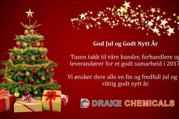 Drake Chemicals Julekort