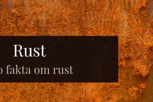 Rust - 10 raske fakta